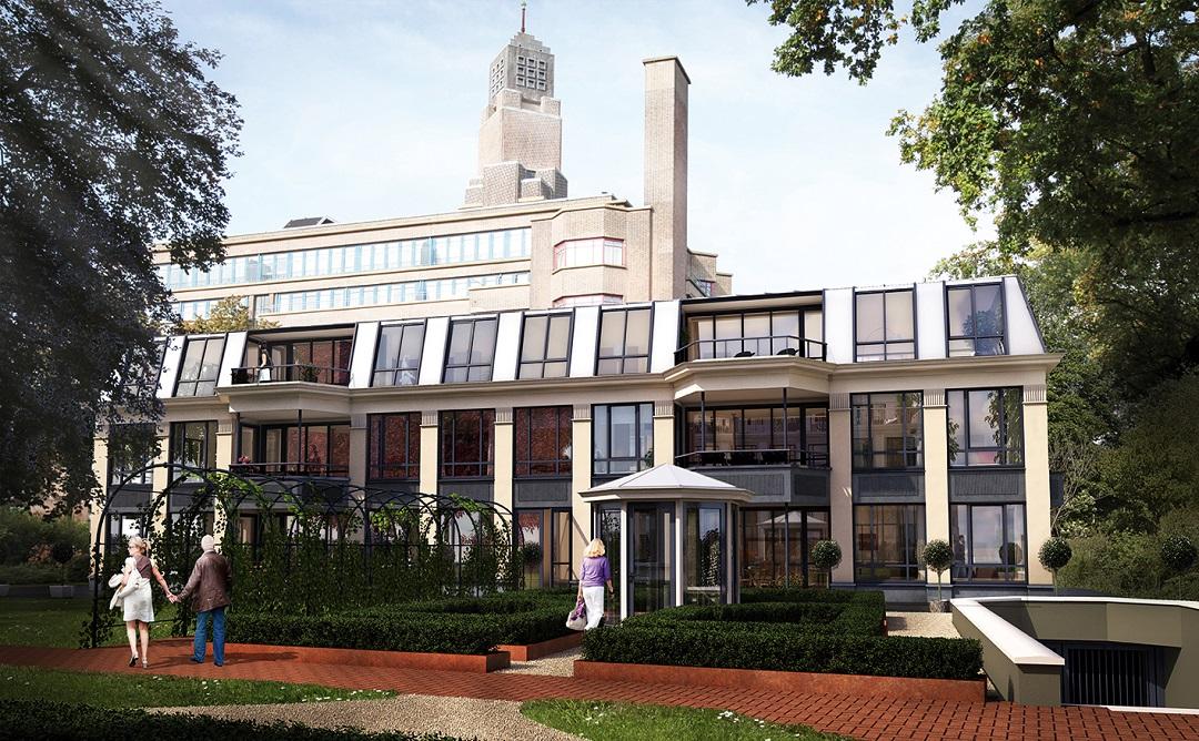 Interieurontwerper Den Haag : Appartement sophialaan den haag petra van trigt